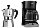 Drip coffer maker and moka pot by Bialetti