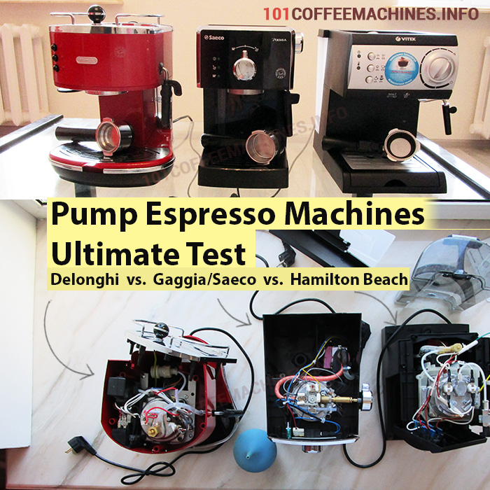 Ultimate Test of Pumo Espresso machines