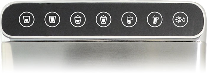 Aicook Espresso Machine has 7 touch buttons