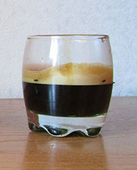 Sample Espresso Shot