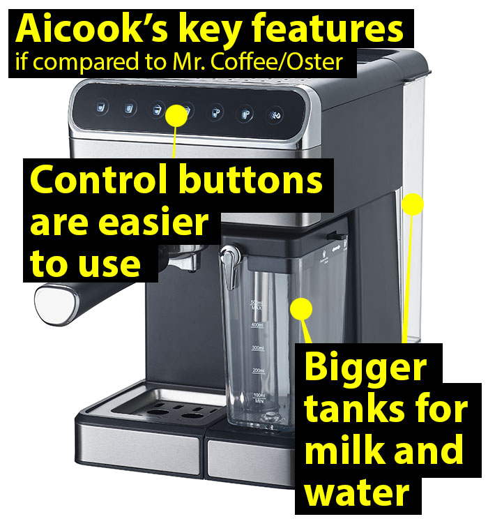 key-feautures-of-aicook-espresso-machine