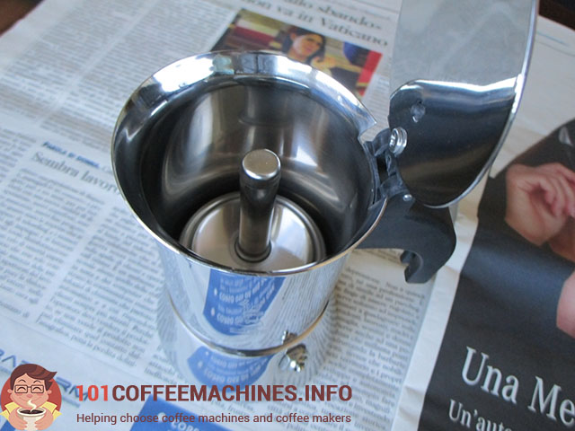 no welding seam on bialetti venus