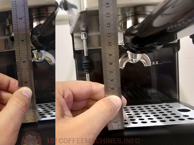 New Gaggia Classic 2019 Msx. Cup Height